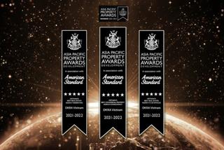 DKRA Vietnam lập 'hat-trick' giải thưởng tại Asia Pacific Property Awards