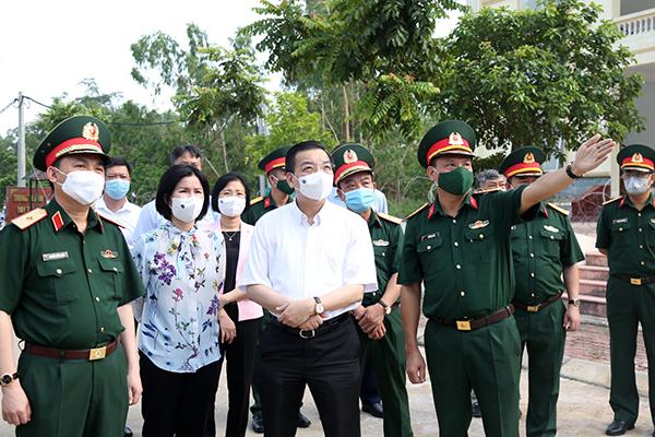Nhiều F1 thành F0, Chủ tịch Hà Nội yêu cầu giảm mật độ người trong khu cách ly