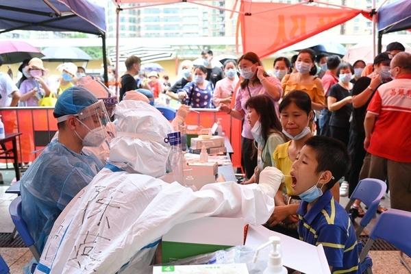 Ca lây nhiễm cộng đồng tăng bất thường ở Quảng Đông, Trung Quốc