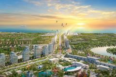 Quảng trường đại lộ trung tâm - điểm đến 'không ngủ' của phố biển Sầm Sơn