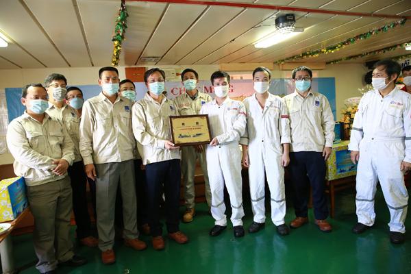 Nhà máy lọc dầu Dung Quất đón chuyến dầu thô thứ 1.000