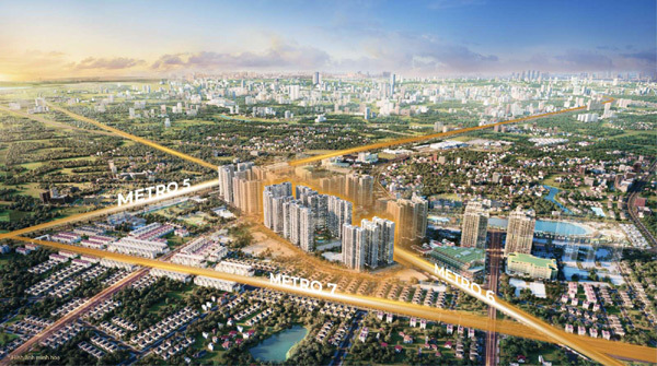 The Metrolines, 'siêu phẩm' đầu tư của Vinhomes phía tây Hà Nội