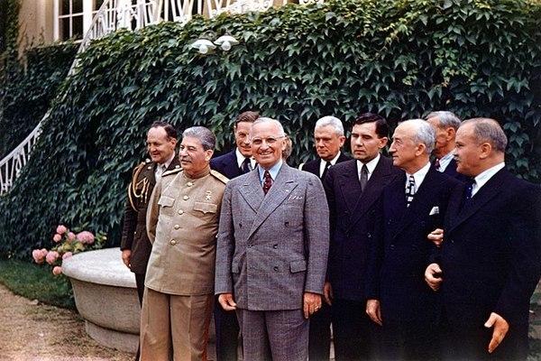 Điều tưởng chừng bất ngờ ở Hội nghị Potsdam