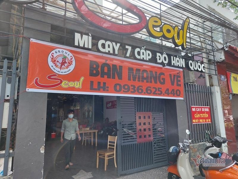 Hàng loạt quán ăn ở Bình Dương đồng loạt bán mang về dù chưa bị cấm