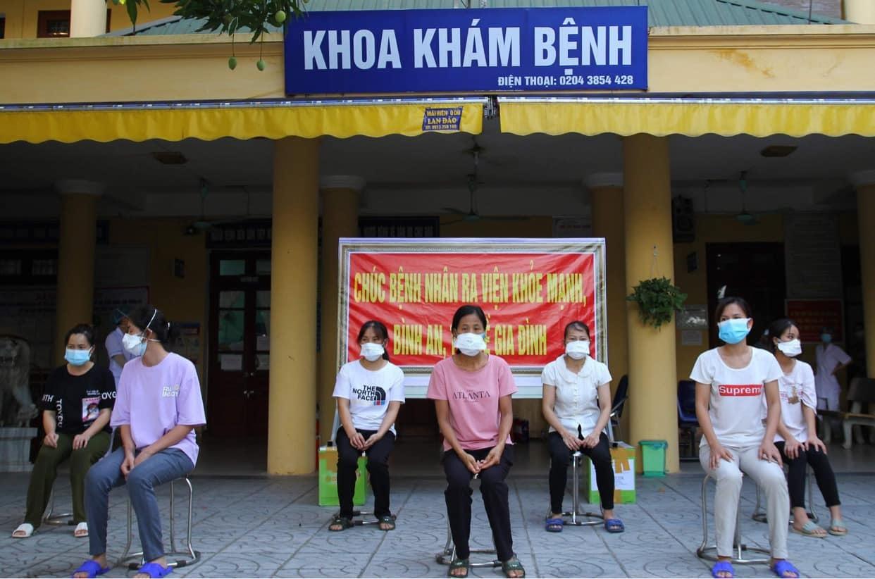 39 bệnh nhân Covid-19 ở Bắc Giang được công bố khỏi bệnh