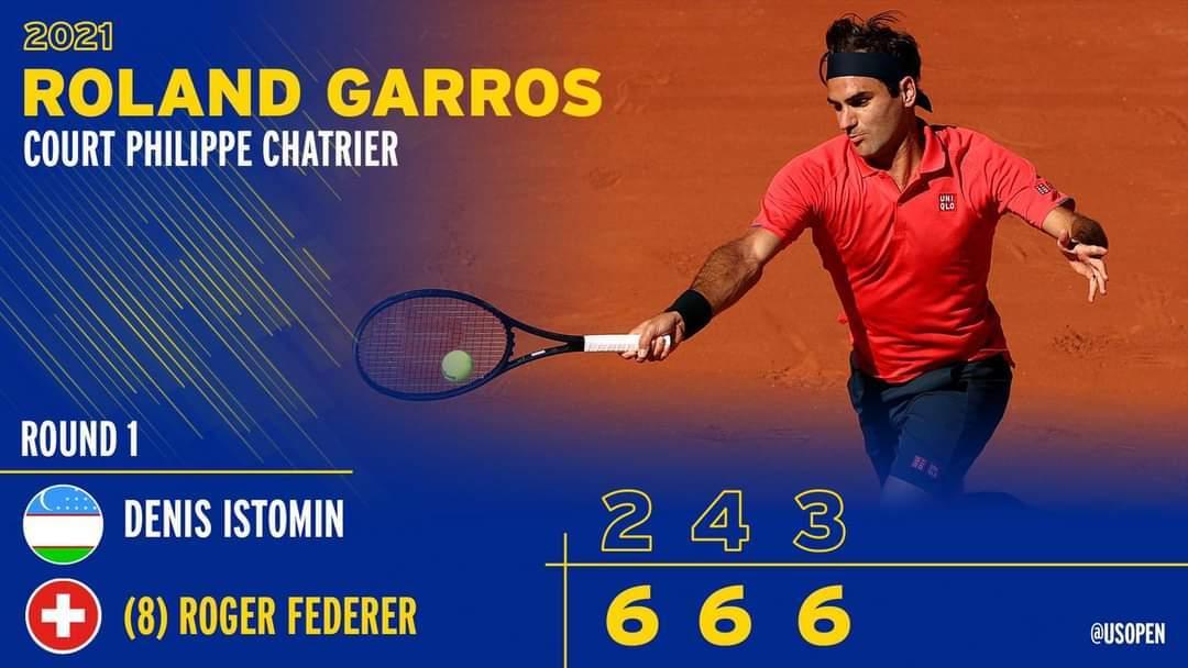 Federer khởi đầu như mơ tại Pháp mở rộng
