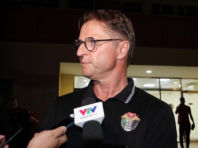 HLV Jordan chúc tuyển Việt Nam đạt kết quả tốt tại UAE