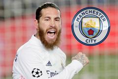 Man City sẵn sàng ký 2 năm lão tướng Sergio Ramos