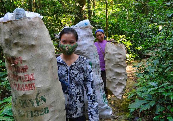 A trek into Vietnam's oldest national park