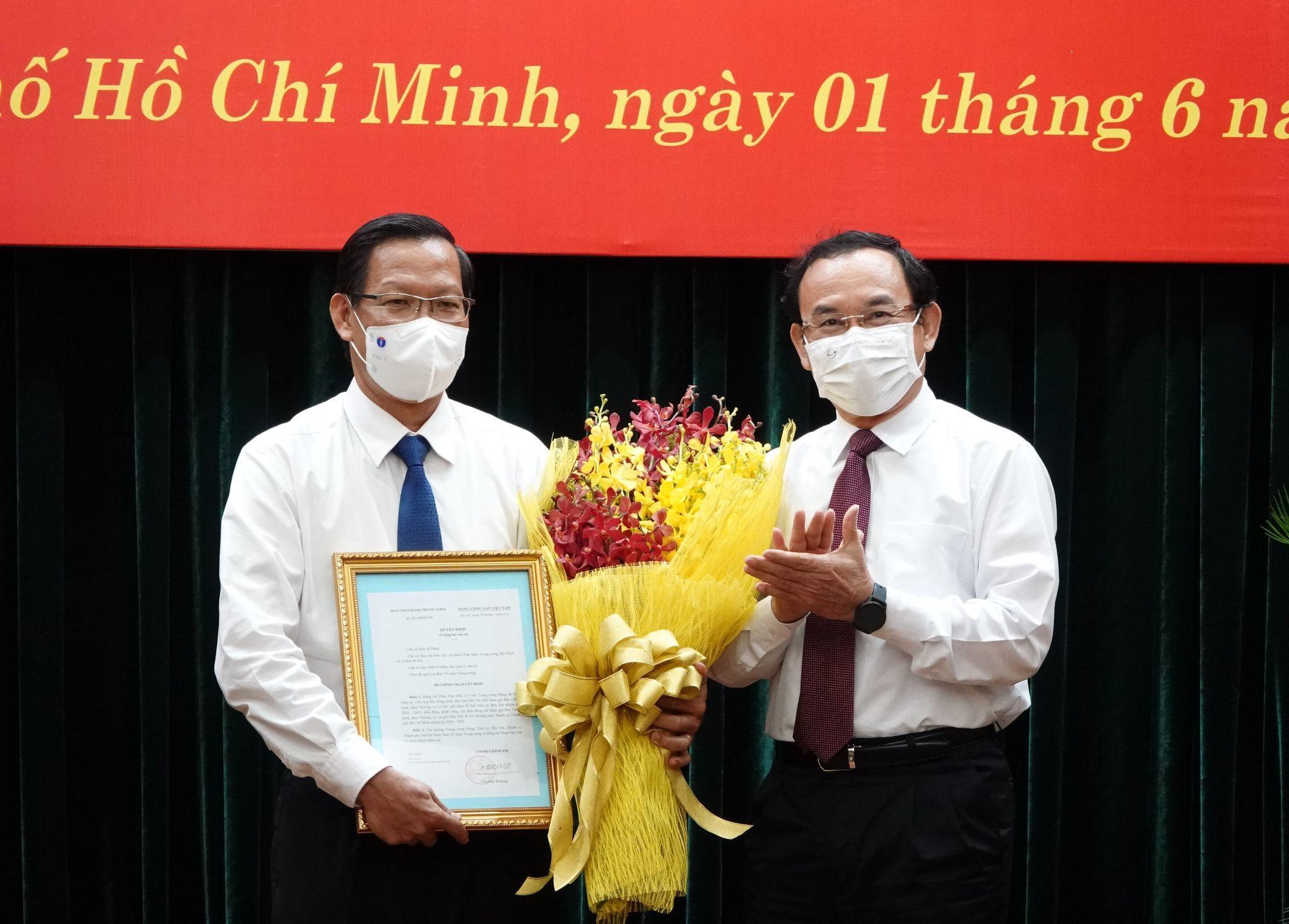 Ông Phan Văn Mãi làm Phó Bí thư Thường trực Thành ủy TP.HCM
