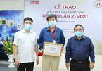 Tác giả 'Quân khu Nam Đồng' nhận giải Dế Mèn 2021