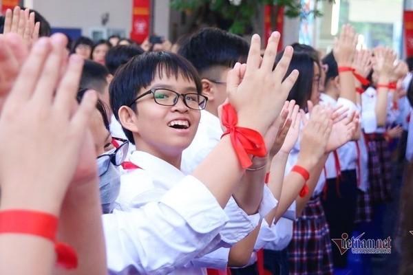 Gần1.000 học sinh tranh200suất vào lớp 6 trường Ams