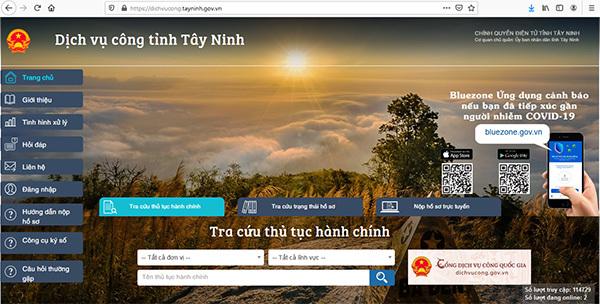 Tây Ninh quyết tâm cung cấp 100% dịch vụ công trực tuyến mức độ 4
