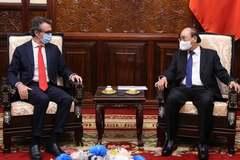 Chủ tịch nước đề nghị EU chia sẻ với Việt Nam công nghệ, kỹ thuật vắc xin