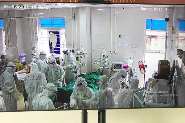 Hai bệnh nhân Covid-19 Bắc Giang phải đặt ECMO, có thai phụ 26 tuổi