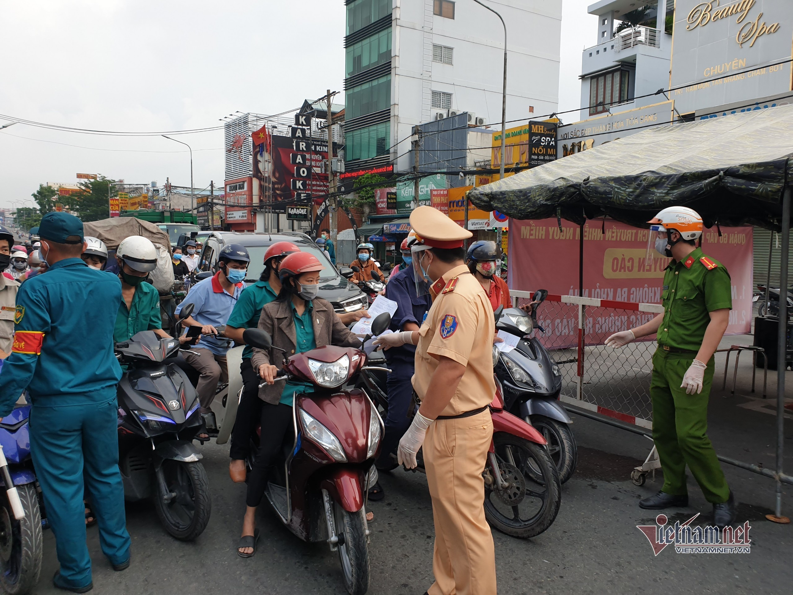 5 lộ trình giao thông không phải qua vùng dịch nguy hiểm Gò Vấp