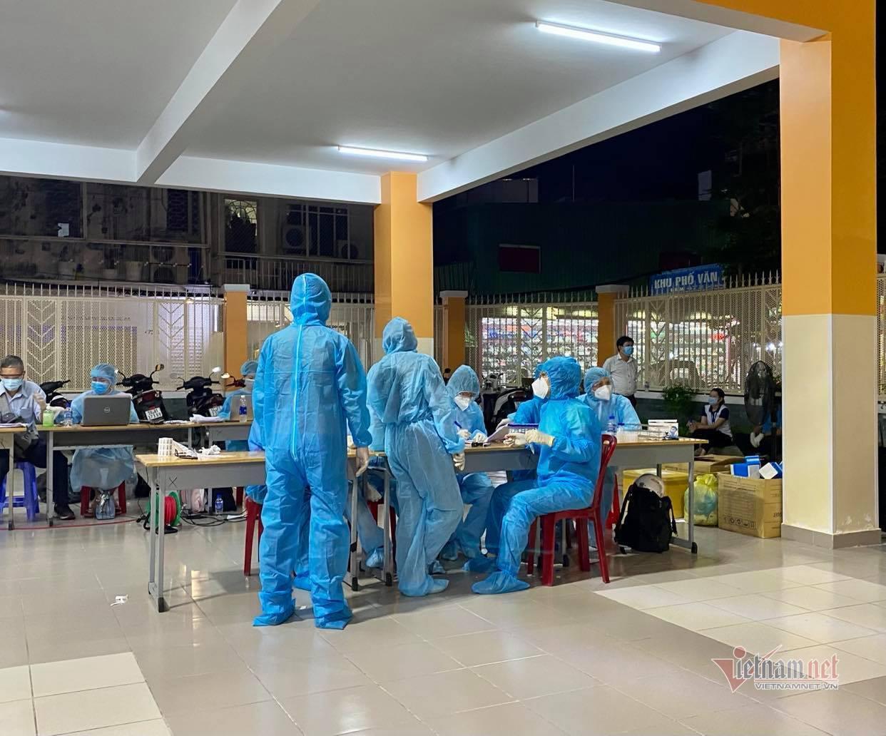 TP.HCM khẩn cấp xét nghiệm 2.000 dân do một ca nhiễm Covid-19