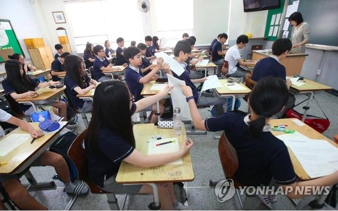 Hàn Quốc báo động tình trạng hụt kiến thức ở học sinh do Covid-19