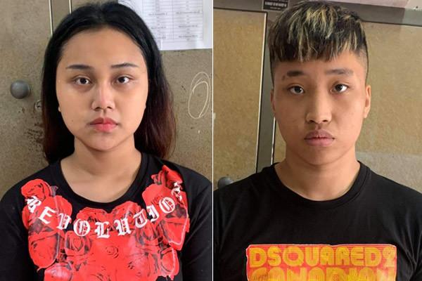 Nhanh chóng bắt đôi nam nữ cướp xe ôm công nghệ ở Hà Nội