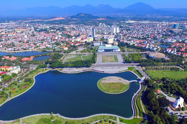 Phúc Yên đang hướng đến xây dựng thành phố xanh