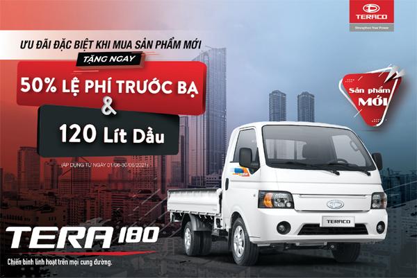 Daehan Motors ra mắt 2 'chiến binh' tải nhẹ Tera180 và Tera150