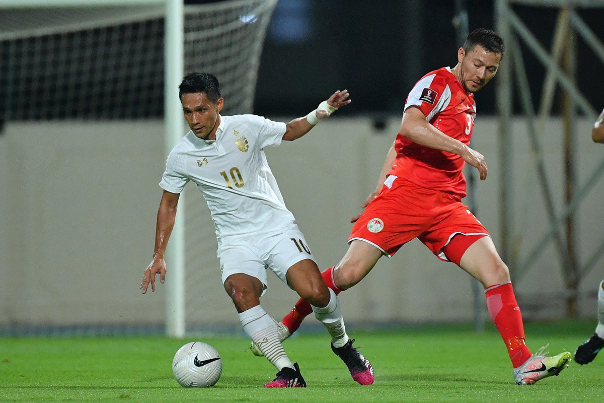 Supachok: 'Tôi muốn cùng Thái Lan dự World Cup'