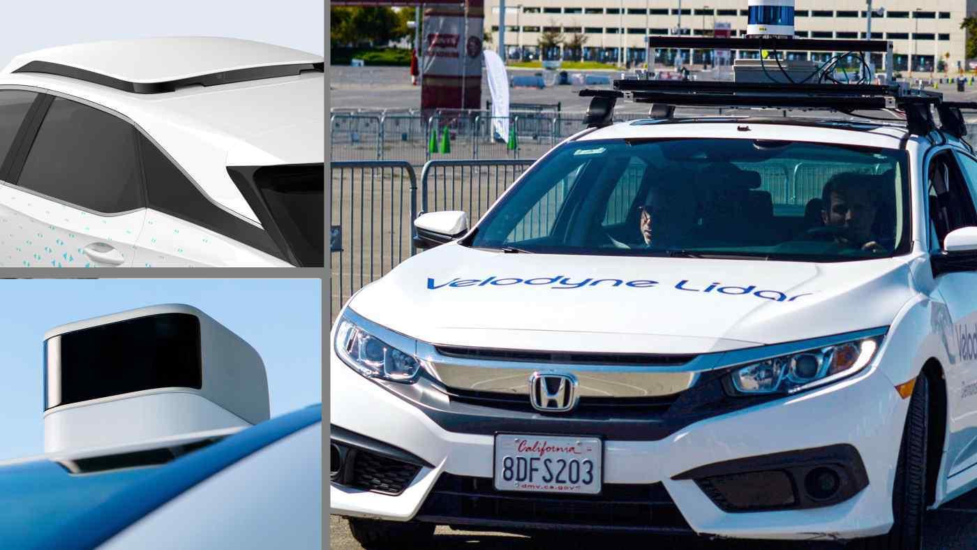 Cảm biến Lidar giá rẻ mở đường cho sự bùng nổ xe tự lái