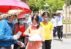 Hơn 36.000 học sinh 'đội' nắng đến trường thi lớp 10 ở Nghệ An
