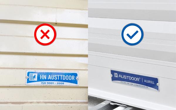 Austdoor kêu gọi 'nói không' với cửa cuốn giả, nhái thương hiệu