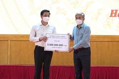 TKV tiếp tục ủng hộ 5 tỷ đồng cho công tác phòng chống dịch