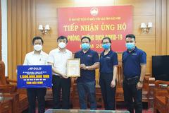 Apollo Silicone ủng hộ Bắc Ninh, Bắc Giang hơn 2,5 tỷ đồng chống dịch