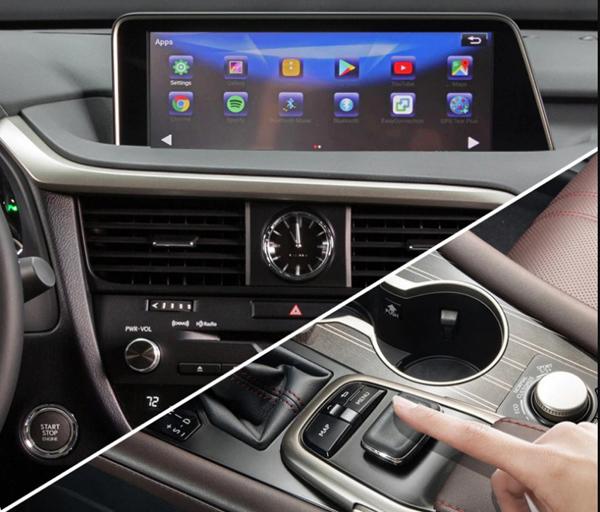 ACI - nâng cấp công nghệ giải trí cho màn hình nguyên bản trên ô tô