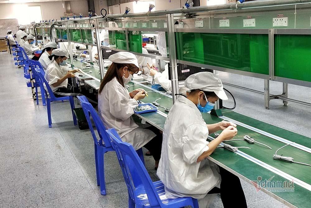 Cảnh hồi sinh trong khu công nghiệp Bắc Giang giữa tâm dịch Covid-19