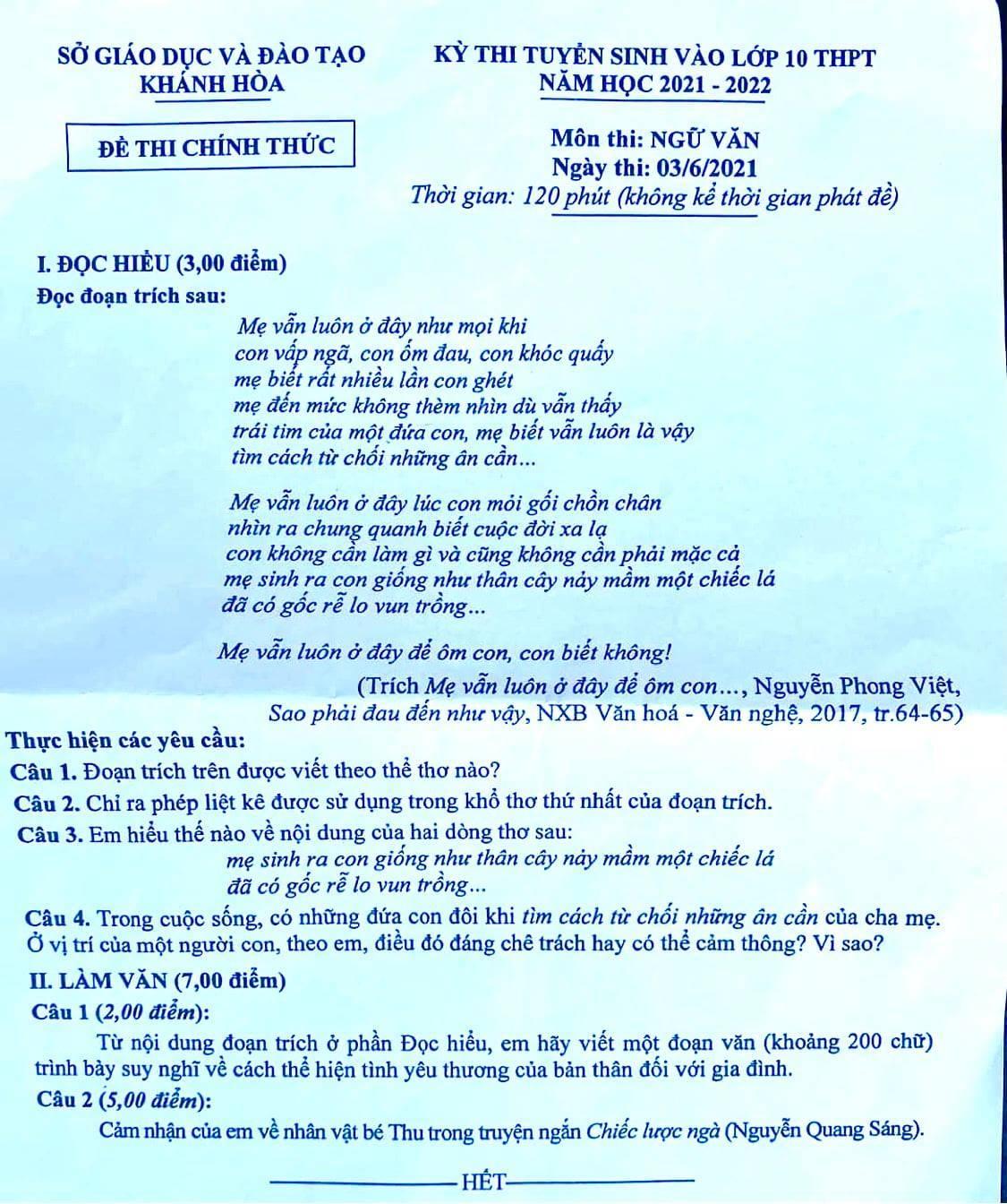 Nhà thơ xuất hiện trong đề thi lớp 10: 'Tôi mừng vì đề không theo khuôn mẫu'