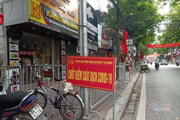 Hải Dương khẩn tìm người đến chợ, loạt cửa hàng liên quan BN Covid-19