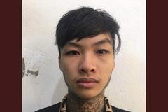 Thanh niên xăm trổ giết người ở huyện Mê Linh ra đầu thú