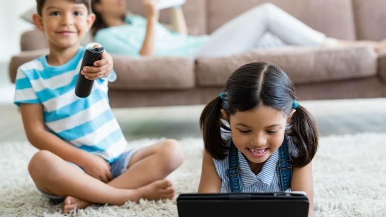 Những đứa con của bạn có 'nghiện màn hình'?