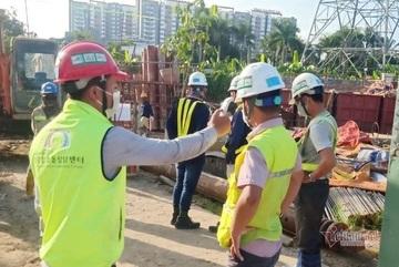 Kỹ sư và công nhân ở Gò Vấp, quận 12 không được đến công trường metro