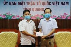 Thầy giáo Quảng Trị dùng phần thưởng cả năm ủng hộ chống dịch Covid-19