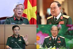 Bốn thượng tướng quân đội thôi làm Thứ trưởng Bộ Quốc phòng