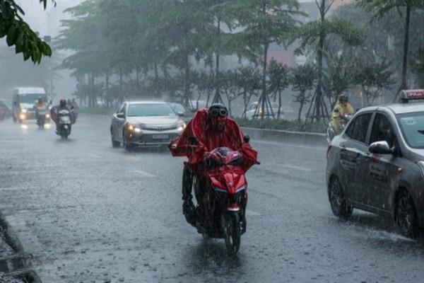 Miền Bắc sắp đón mưa giông diện rộng