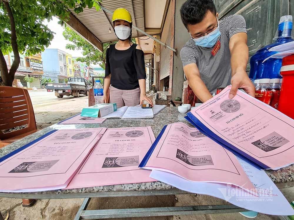 """Theo chân """"khắc tinh"""" Covid-19 trong cộng đồng ở Bắc Giang"""