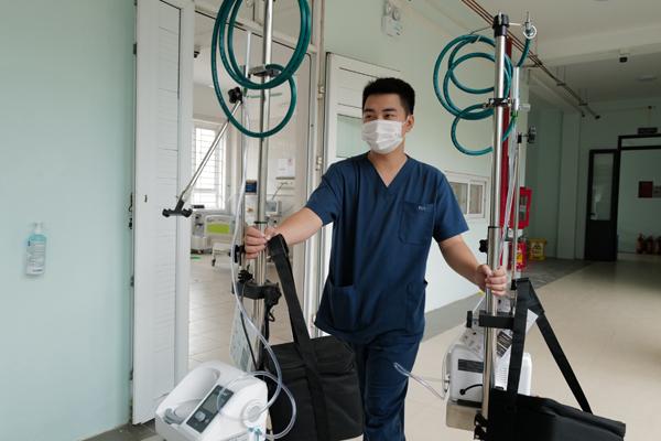 Cận cảnh Trung tâm Hồi sức tích cực điều trị Covid-19 hiện đại nhất miền Bắc tại Bắc Giang
