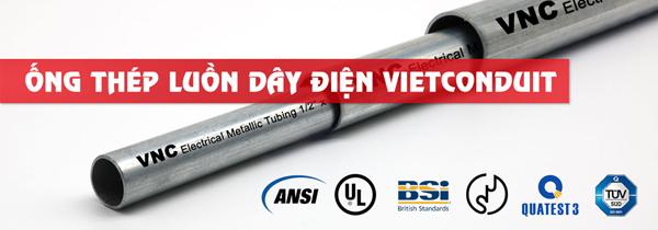 Chủ động nguyên vật liệu - lợi thế đáng giá của ống luồn dây điện VNC