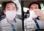 Tài xế taxi bật khóc, ngồi 18 tiếng trên xe vì chở hành khách bị sốt