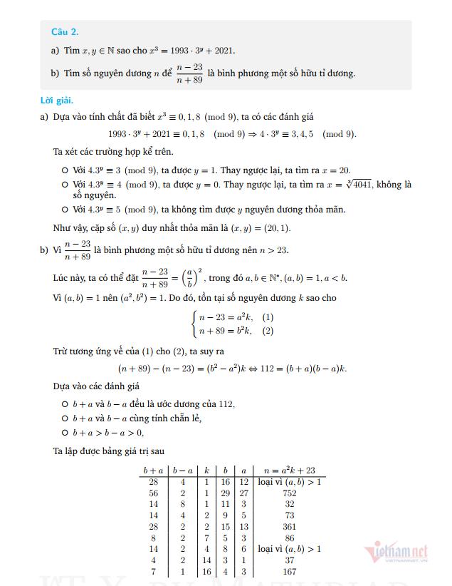 Hướng dẫn giải đề thi Toán chuyên vào lớp 10 Chuyên Phan Bội Châu