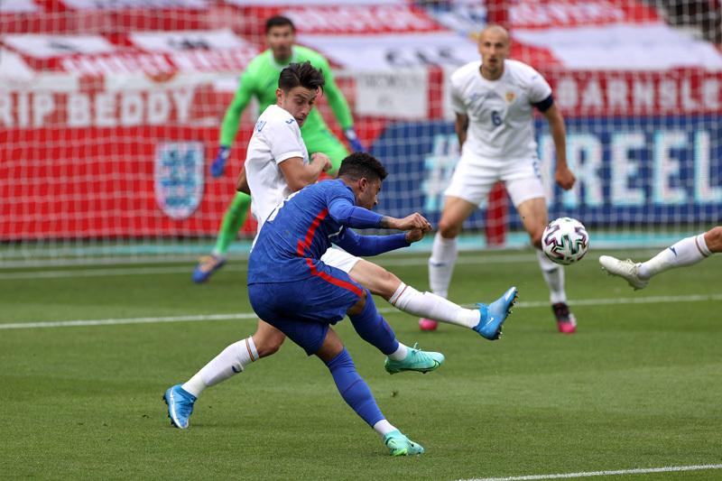 Rashford khai hỏa, tuyển Anh thắng nhọc trước Euro 2020