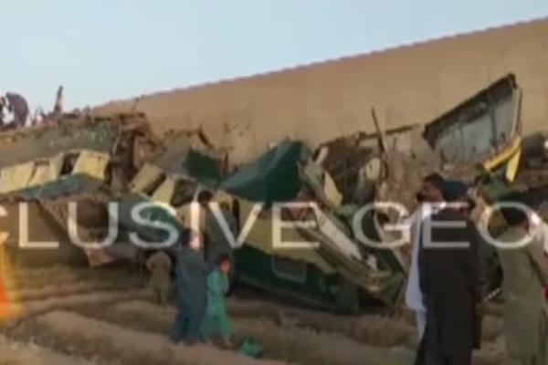 Tàu hỏa đâm nhau ở Pakistan, hàng chục người thiệt mạng