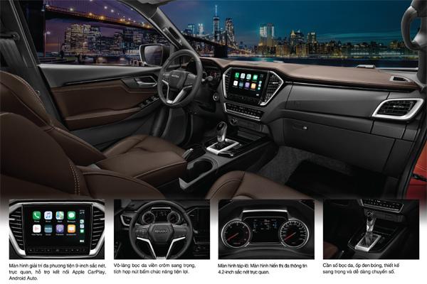 Isuzu All New D-MAX gây bất ngờ vì thiết kế sang trọng tiện nghi như xe SUV