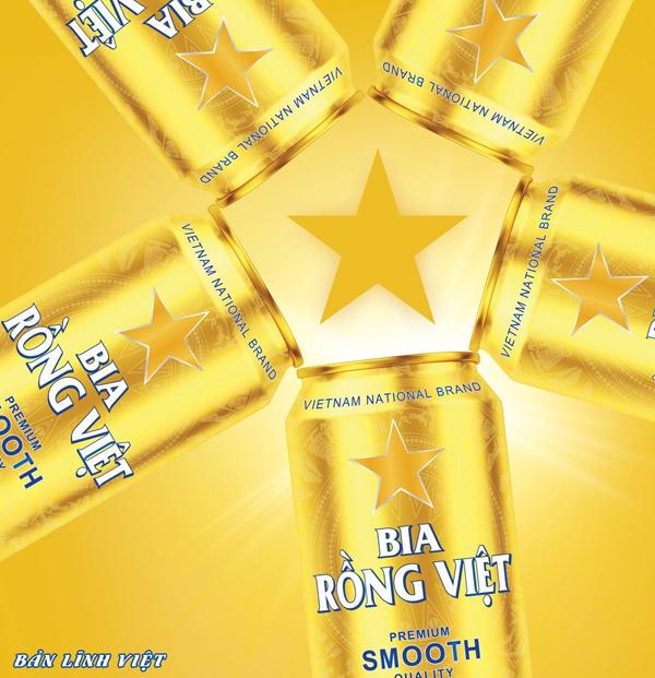Sắp ra mắt Bia Rồng Việt
